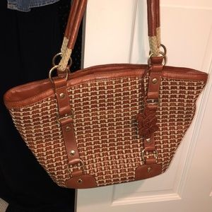 Authentic Elliot Lucca bag summer bag with gold